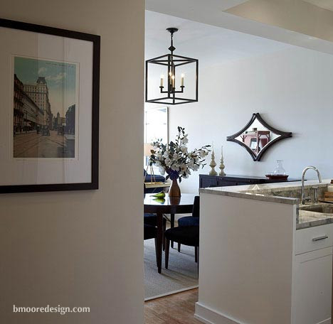 Interior design portfolio b moore design for Nyc apartment interior design