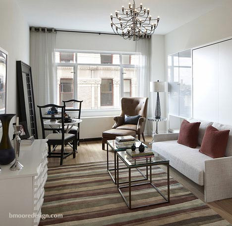 Interior design portfolio b moore design for Apartment design new york
