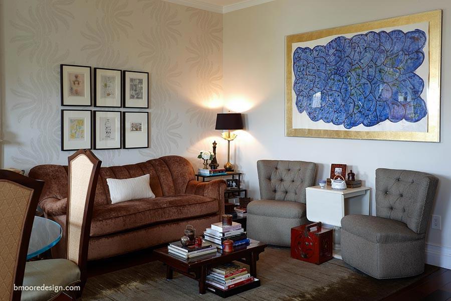 Interior design nyc b moore design inc portfolio - Brooklyn apartment interior design ...