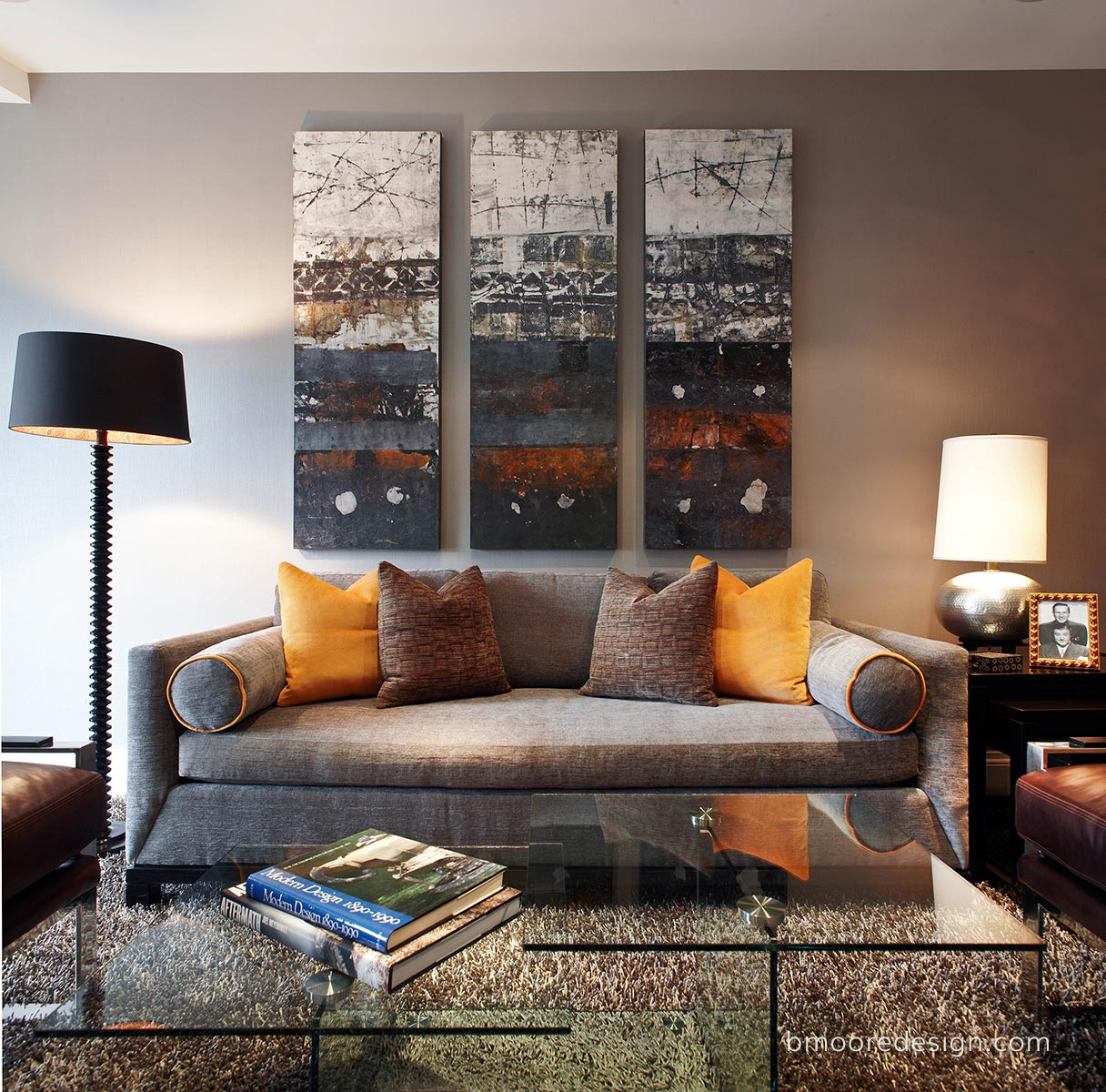 Lower East Side Manhattan apartment by Brooklyn NY interior designer B Moore Design.