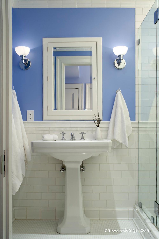 Interior Design NYC B Moore Design Inc Portfolio - Bathroom renovation manhattan