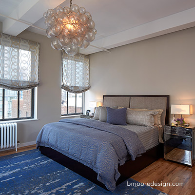 Loft in NYC Flatiron building, Interior Designer Barbara Moore, Brooklyn NY
