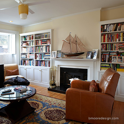 Cobble Hill Brooklyn apartment interior design by Barbara Moore a Brooklyn NY interior designer.